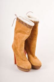Christian Louboutin Step n Roll Boots at Net A Porter