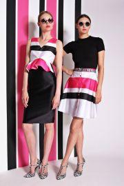 Christian Siriano Resort 2014 Striped Top and Shorts at Vogue