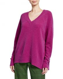 Christian Wijnants Karwat V-Neck Wool Sweater at Neiman Marcus