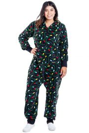 Christmas Lights Jumpsuit by Tipsy Elves at Amazon