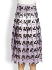 Christopher Kane - Pleated Carnation Skirt at Saks Fifth Avenue