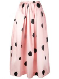 Christopher Kane Full Shape Polka Dot Print Skirt - Farfetch at Farfetch