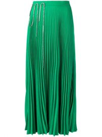 Christopher Kane Squiggle Cupchain Pleated Skirt - Farfetch at Farfetch