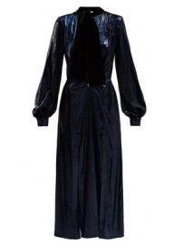 Christy crystal-embellished velvet dress at Matches