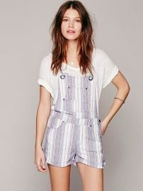 Chrystie slouch shortalls at Free People