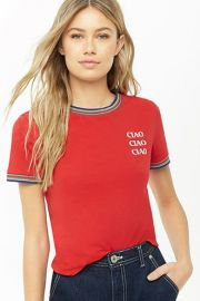 Ciao Ringer Tee by Forever 21 at Forever 21