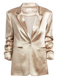 Cinq    Sept - Kylie Satin Blazer at Saks Fifth Avenue
