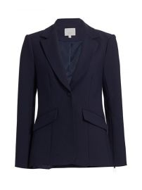 Cinq    Sept - Kym Zipper Blazer at Saks Fifth Avenue
