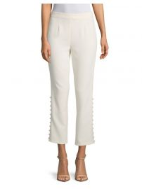 Cinq    Sept - Lida Button Pants at Saks Fifth Avenue