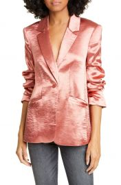 Cinq    Sept Kylie Hammered Satin Jacket   Nordstrom at Nordstrom