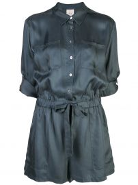 Cinq A Sept Giles playsuit Giles playsuit at Farfetch