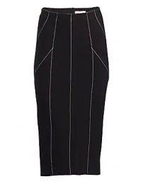Cinq    Sept - Ali Contrast Stitch Pencil Skirt at Saks Fifth Avenue