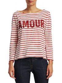 Cinq    Sept - Amour Breton Stripe Top at Saks Off 5th