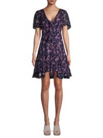 Cinq    Sept - Annali Floral-Print A-Line Dress at Saks Off 5th