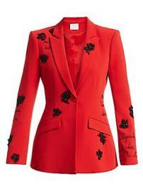 Cinq    Sept - Estelle Beaded Blazer at Saks Fifth Avenue