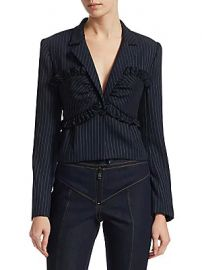 Cinq    Sept - Lourdes Pinstripe Blazer at Saks Fifth Avenue