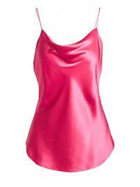 Cinq    Sept - Marta Silk Cowlneck Cami Top at Saks Fifth Avenue