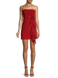 Cinq    Sept - Nat Tassel-Trimmed Strapless Dress at Saks Off 5th