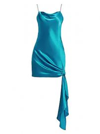 Cinq    Sept - Ryder Silk Tie Dress at Saks Fifth Avenue