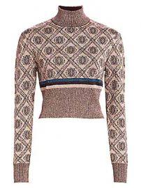 Cinq    Sept - Weston Jacquard Knit Sweater at Saks Fifth Avenue