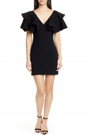 Cinq    Sept Ambrose Ruffle Sleeve Minidress   Nordstrom at Nordstrom
