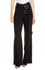 Cinq    Sept Jessi Belted Flare Pants   Nordstrom at Nordstrom