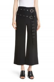 Cinq    Sept Jessi Double Belt Pants   Nordstrom at Nordstrom