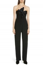 Cinq    Sept Trina Bow Strapless Jumpsuit at Nordstrom