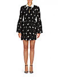 Cinq   Sept - Lily Floral Silk Dress at Saks Off 5th