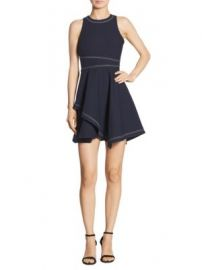 Cinq   Sept - Lyla Fit- -Flare Dress at Saks Fifth Avenue