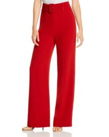 Cinq  amp agrave  Sept Eliza Belted Crepe Pants Women - Bloomingdale s at Bloomingdales