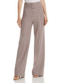 Cinq  amp agrave  Sept Eliza Wide-Leg Plaid Pants Women - Bloomingdale s at Bloomingdales