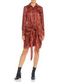 Cinq  amp agrave  Sept Gaby Snakeskin-Print Dress Women - Bloomingdale s at Bloomingdales