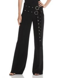 Cinq  amp agrave  Sept Jessi Double Belt-Detail Pants Women - Bloomingdale s at Bloomingdales
