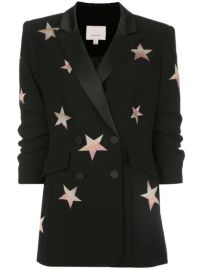 Cinq A Sept Lila Star Print Blazer - Farfetch at Farfetch