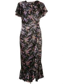 Cinq A Sept Nanon Floral Print Dress - Farfetch at Farfetch
