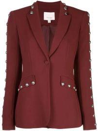 Cinq A Sept Studded Tailored Blazer  - Farfetch at Farfetch