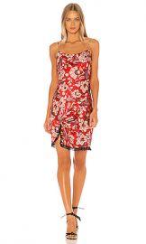 Cinq a Sept Avalyn Dress in Venetian Red Multi from Revolve com at Revolve