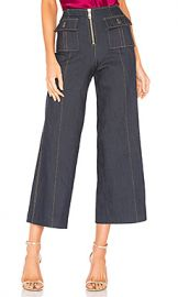 Cinq a Sept Azure Pant in Indigo from Revolve com at Revolve