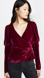 Cinq a Sept Long Sleeve Theo Top at Shopbop