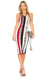 Cinq a Sept Stara Dress in Cerise Multi from Revolve com at Revolve