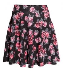 Circular Floral Skirt at H&M