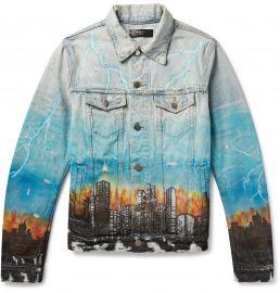 City Dragon Trucker Jacket by Amiri at Mr Porter