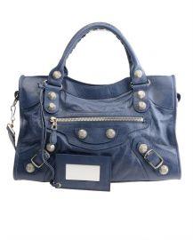 City Leather Bag at Balenciaga