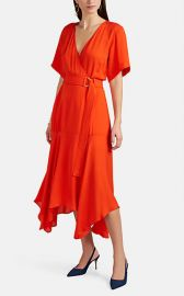 Claire Silk Wrap Dress at Barneys