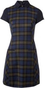 Clara's plaid dress at House of Fraser