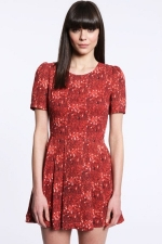 Clara's red dress at Urban Outfitters at Urban Outfitters
