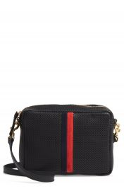 Clare V  Midi Sac Perforated Leather Crossbody Bag   Nordstrom at Nordstrom