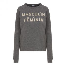 Clare V Masculin Feminin Sweatshirt at Cash and Clive