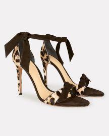 Clarita 100 Calf Hair Sandals at Intermix